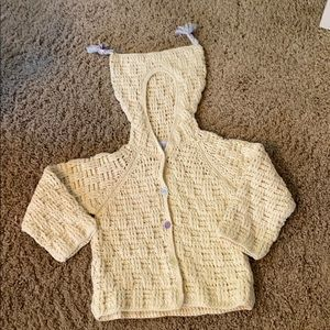 Baby Gap girls chunky  sweater